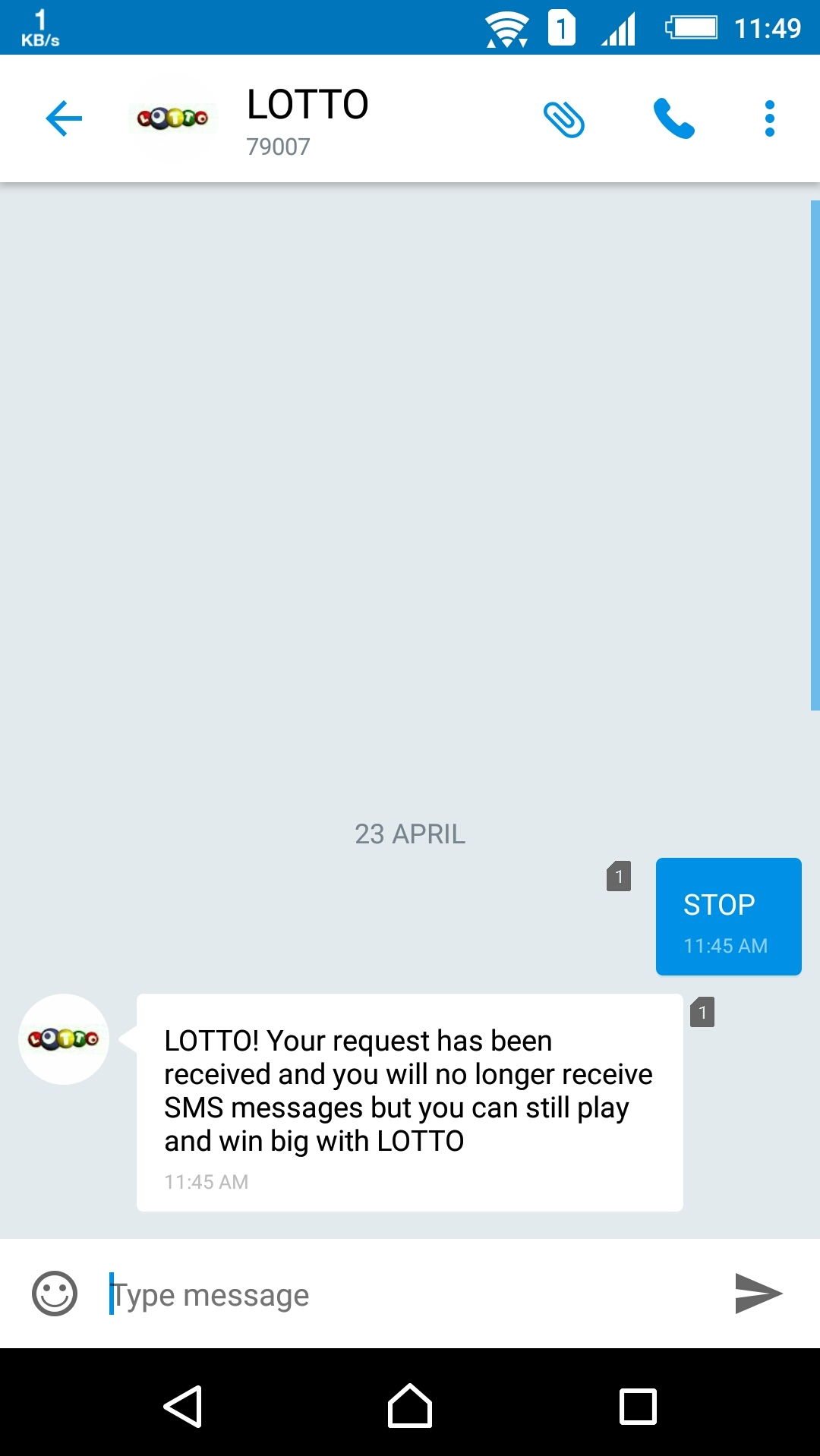 How to stop those annoying LOTTO SMS texts - Hacks